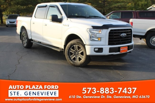 used 2016 Ford F-150 4WD XLT Supercrew Truck For sale Sainte Genevieve, MO