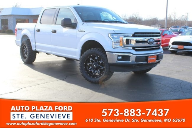 used 2018 Ford F-150 4WD XLT Supercrew Truck For sale Sainte Genevieve, MO
