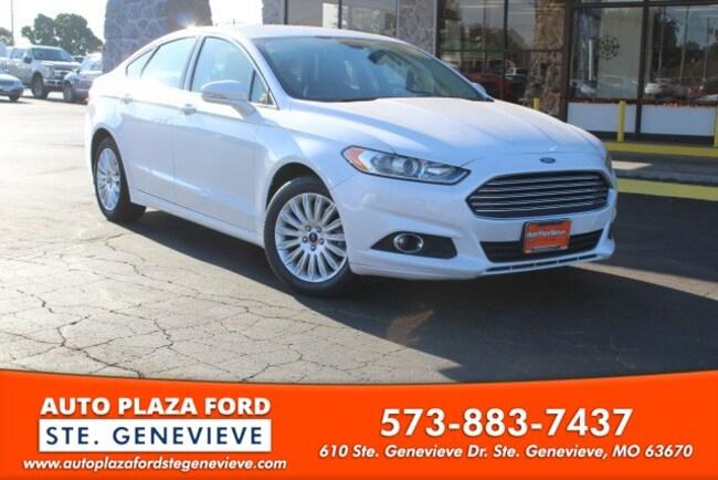 used 2015 Ford Fusion Energi SE Luxury Sedan For sale Sainte Genevieve, MO