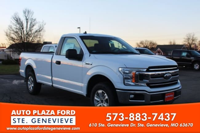 New 2019 Ford F-150 2WD XLT Reg Cab Truck For Sale/Lease Genevieve, MO