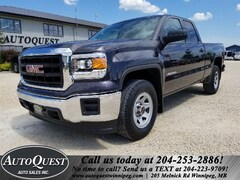 2015 GMC Sierra 1500 Double Cab, 5.3L, 4x4! Local MB Truck! Quad Cab