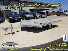 2015 Aluma 8610D 10' 2-place Snowmobile Trailer  *USED*