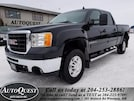 2009 GMC Sierra 2500hd SLT - 6L GAS, LEATHER, POWER SUNROOF! Crew Cab