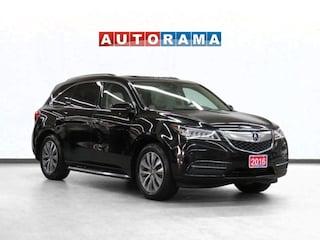 2016 Acura MDX Elite Pkg 4WD Navigation Leather Sunroof BCam 7Pas SUV