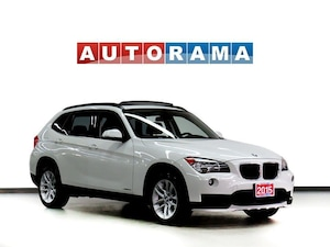 2015 BMW X1 LEATHER SUNROOF AWD