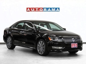 2015 Volkswagen Passat Navigation Leather Sunroof Backup Cam