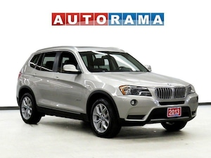 2013 BMW X3 xDrive28i NAVIGATION PANORAMIC SUNROOF LEATHER AWD