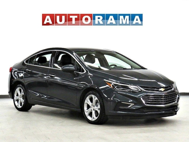 Pre-Owned 2017 Chevrolet Cruze PREMIER BACK UP CAMERA LEATHER ALLOY RIMS Sedan in Toronto