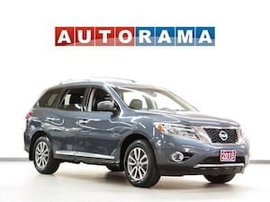2016 Nissan Pathfinder SL LEATHER SUNROOF 7 PASSENGER AWD
