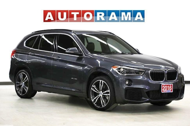 Pre-Owned 2016 BMW X1 XDRIVE28i BLUETOOTH LEATHER SUNROOF Wagon in Toronto