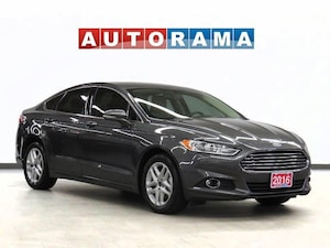 2016 Ford Fusion SE Ecoboost Backup Cam Leather