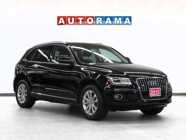 Pre-Owned 2015 Audi Q5 Progressive Pkg AWD Navigation Leather Sunroof SUV in Toronto