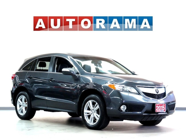 Pre-Owned 2015 Acura RDX TECH PACKAGE NAVI LEATHER SUNROOF BACKUP CAM AWD SUV in Toronto