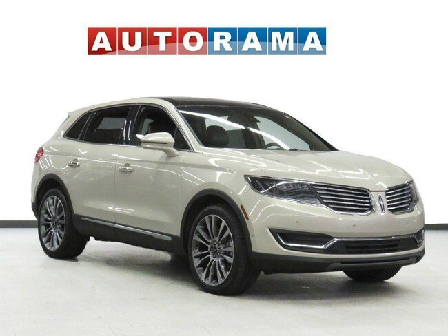 Pre-Owned 2016 Lincoln MKX AWD Navigation Leather Pano-Sunroof Backup Cam SUV in Toronto