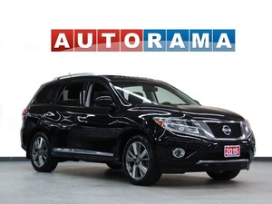 2015 Nissan Pathfinder SL NAVI LEATHER PAN SUNROOF 7 PASS AWD BACK UP CAM