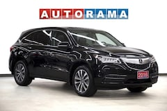 2016 Acura MDX 4WD Navigation Leather Sunroof Backup Cam 7-Pass SUV