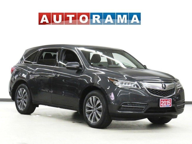 Pre-Owned 2015 Acura MDX NAVIGATION LEATHER SUNROOF 7 PASSENGER AWD SUV in Toronto