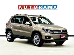 2015 Volkswagen Tiguan HIGHLINE AWD NAVIGATION LEATHER PANO-SUNROOF