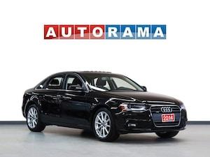 2014 Audi A4 PROGRESSIV PKG TFSI QUATTRO NAVI LEATHER SUNROOF