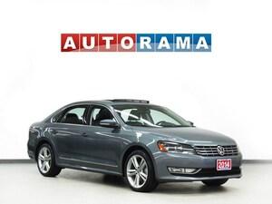2015 Volkswagen Passat HIGHLINE V6 NAVIGATION LEATHER SUNROOF