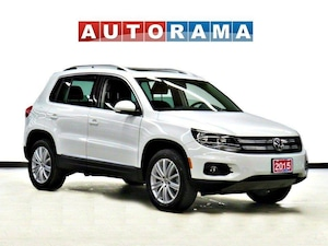 2015 Volkswagen Tiguan HIGHLINE 2.0 TSI 4MOTION NAVI PANO SUNROOF LEATHER