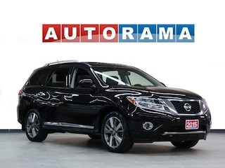 2015 Nissan Pathfinder SL NAVIGATION LEATHER SUNROOF 4WD 7 PASSENGER SUV