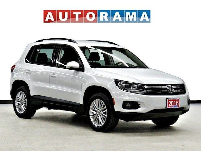 Pre-Owned 2016 Volkswagen Tiguan 4WD Backup Cam SUV in Toronto