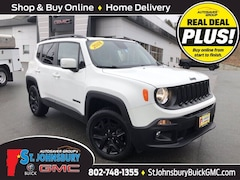 Used 2018 Jeep Renegade Latitude 4x4 SUV For Sale in St. Johnsbury