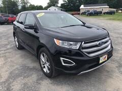 Used 2017 Ford Edge Titanium SUV in Comstock, NY
