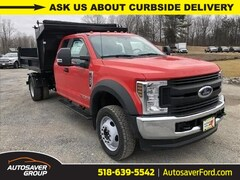 New 2019 Ford F-550 Chassis XL w/ Switch-N-Go 3-4 Yard Dump Body Commercial-truck in Comstock, NY