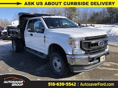 New 2020 Ford F-350 Chassis XL w/ Rugby 2-3 Yard Dump Body Commercial-truck in Comstock, NY