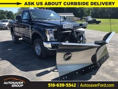 New 2019 Ford F-250 XL w/ Fisher XV2 Plow Truck in Comstock, NY