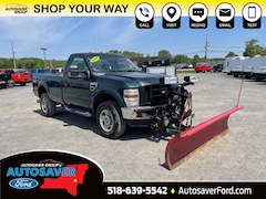 2009 Ford Super Duty F-350 SRW XL w/ Western Plow Long Bed Truck For Sale in Comstock, NY