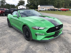 New 2019 Ford Mustang GT Premium Convertible in Comstock, NY