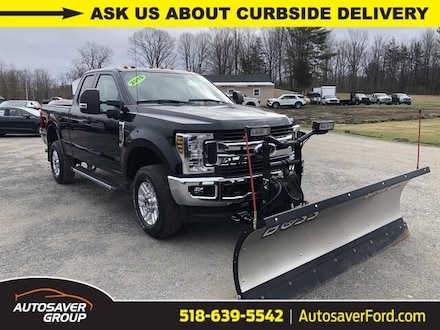 2019 Ford F-250 XLT w/ Boss Plow Extended Cab Truck