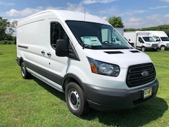 2018 Ford Transit-150 w/Sliding Pass-Side Cargo Door Medium Roof Cargo Van For Sale in Comstock, NY