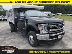 New 2020 Ford F-350 Chassis XL w/ EBY Aluminum Landscape Rack Dump Body Commercial-truck in Comstock, NY