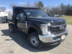 New 2019 Ford F-350 Chassis XL w/ Rugby 2-3 Yard Dump Body Truck Regular Cab in Comstock, NY