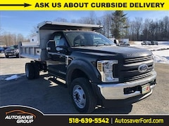 New 2019 Ford F-550 Chassis XL w/ DownEaster 3-4 Yard Stainless Steel Dump Bod Commercial-truck in Comstock, NY
