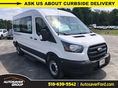 New 2020 Ford Transit-350 Passenger XL Rear-wheel Drive Medium Roof Van Commercial-truck in Comstock, NY