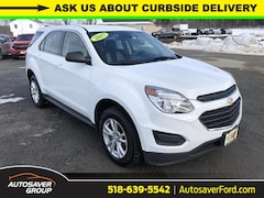 Used 2017 Chevrolet Equinox LS SUV in Comstock, NY