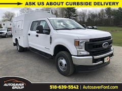 New 2020 Ford F-350 Chassis XL w/ Knapheide KUV Utility Body Commercial-truck in Comstock, NY