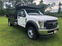 2018 Ford F-550 Chassis XL w/ Knapheide Contractor Body Commercial-truck For Sale in Comstock, NY