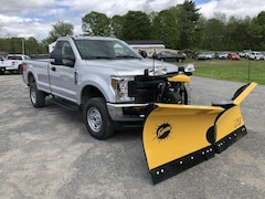 New 2019 Ford F-250 STX w/ Fisher XV2 Yellow Plow Truck in Comstock, NY