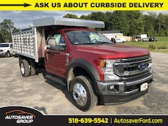 New 2020 Ford F-450 Chassis XLT w/ EBY Aluminum Landscape Rack Dump Body Commercial-truck in Comstock, NY