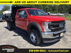 New 2020 Ford F-550 Chassis XL w/ Rugby 3-4 Yard Dump Body Commercial-truck in Comstock, NY