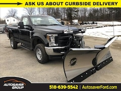 2019 Ford F-250 XL w/ Fisher XV2 Plow Truck For Sale in Comstock, NY