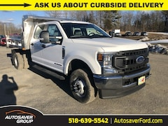 New 2020 Ford F-350 Chassis XL w/ Rugby 2-3 Yard Stainless Steel Dump Body Commercial-truck in Comstock, NY