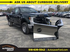 New 2020 Ford F-350 XL w/ Fisher XV2 Plow Truck in Comstock, NY