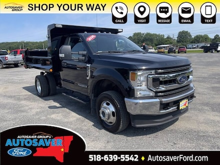 2020 Ford Super Duty F-350 DRW XLT w/ Downeaster Dump Body Chassis Truck